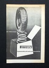 C784 - Advertising Pubblicità- 1953 - PIRELLI PNEUMATICO PER MOTORSCOOTER