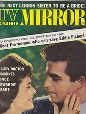 JULY 1962 TV RADIO MIRROR vintage movie magazine VINCE EDWARDS