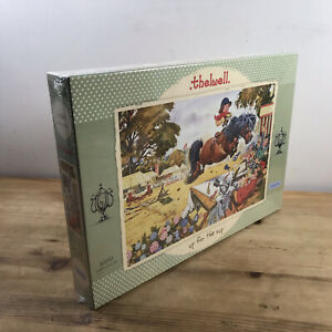 Gibsons 1000 Piece Sealed Jigsaw Norman Thelwell 'Up For The Cup' Horse Cartoon