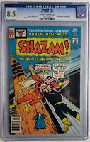 🔥🔥 SHAZAM #28 CGC 8.5 1ST APP BLACK ADAM DC COMICS 1977 SINCE GOLDEN AGE