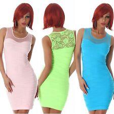 Nylon Stretch, Bodycon Casual Sleeveless Dresses for Women