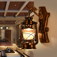 Nautical Retro Exterior Wall Lamp Outdoor Lantern Sconce Rustic Porch Wall Light