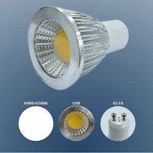 5W GU10 LED Bulbs Lamps Cool White (6000K-6500K) Spotlight