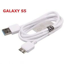 Samsung Galaxy Note 3 S5 N900 USB 3.0 Data Sync Cable Charger White OEM Quality