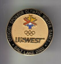 RARE PINS PIN'S .. OLYMPIQUE OLYMPIC SALT LAKE 2002 US WEST PHONE TELEPHONE ~17