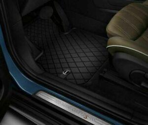 MINI Genuine Floor Mats All-Weather Front Set Essential Black F60 51472447607
