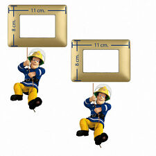 Adesivi Murali interruttori sam il pompiere fireman wall decal light switch 2 pz