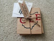 New listing Cle Ohio Wooden Coasters