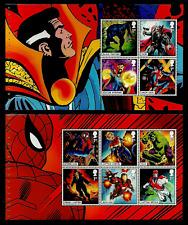 GB 2019 MARVEL COMICS SUPER HEROES SPIDER-MAN BOOKLET PANES MNH