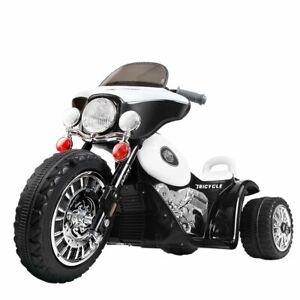 Rigo Kids Ride On Motorbike Motorcycle Toys Black White