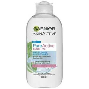 Garnier Skin Active Pure Sensitive Anti-Blemish Gentle Gel Toner 200ml / 6.76oz