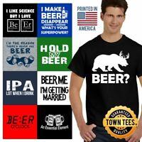 Bar Tee Shirt Drinking T-Shirt Mens Drunk TShirts Pub T Shirt For Womens Gifts