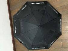 Wessex Garages Umbrella Unisex Black Automatic Wind Resistant Stylish