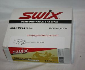 Swix Wax Race Wax yellow bulk 900 grams UR10-900 SWIX 28F-50F tempNEW