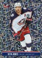 2018-19 NHL Stickers #62 Seth Jones Columbus Blue Jackets FOIL Hockey Sticker