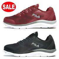 Mens FILA EXOLIZE-2 Trainers Shoes - Size 7 to 11 UK - RED or BLACK - New**RRP45