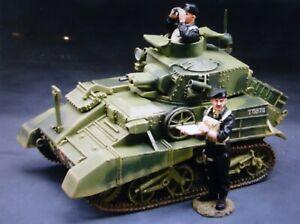 king & country 60mm ww2 British Vickers MK 1V & 2 figures 2006 FOB019 mib oop