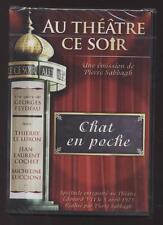 NEUF DVD PIECE DE THEATRE CHAT EN POCHE SOUS BLISTER LE LURON COCHET LUCCIONI