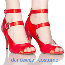 Ladies Waltz Party Ballroom Latin Tango Salsa Dance Shoes Heels Sandals EU 34-42