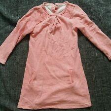 Mothercare rose à manches longues hiver printemps robe avec poches pour 2-3 ans fille