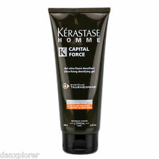 KERASTASE HOMME CAPITAL FORCE ULTRA FIXING DENSIFYING GEL 200ml or 6.7oz