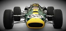 INDY GP F 1 CARRERA COCHE FORD 1965 40 VINTAGE 18 GT 24 METAL
