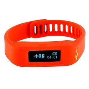 NEW Everlast EVWTR011RE TR1 Red Wireless Sleep/ Fitness Activity Tracker Watch