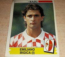 FIGURINA CALCIATORI PANINI 1994/95 BARI BIGICA ALBUM 1995