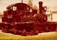 7F958 RP 1965  MICHIGAN CALIFORNIA LUMBER CO SHAY ENGINE #2 CAMINO CA