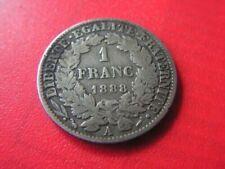 Pièces de monnaie françaises de 10 francs 1 francs