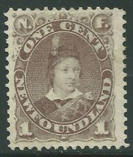 NEWFOUNDLAND #42 Unused - 1c gray brown