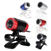 USB 12 Megapixels HD Webcam Web Cam Computer Camera w/MIC for PC Laptop Desktop