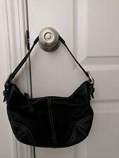 COACH Soho Hobo Black Leather Small Shoulder Bag/Hobo Purse No. F3S-9541