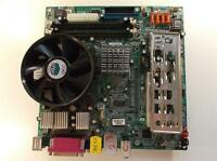 MSI MS-7036 Socket 775 Motherboard With Intel Celeron 2.80 Ghz Cpu
