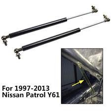 2pcs Front Hood Bonnet Pair Lift Support For Nissan Patrol Y61 1997 - 2013 Strut
