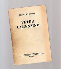 hermann hesse - peter camenzind - serie bur rizzoli-