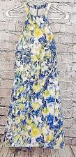 Charlie Jade Womens Dress Size SP Watercolor Floral Halter Lined  (w-245)