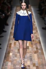 Runway Valentino Blue Patent Leather Mary Jane Heels