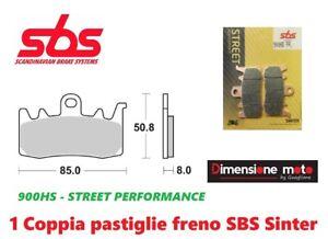 SBS 556HF PASTIGLIE FRENO POSTERIORE KAWASAKI ZXR 750 1993-1995