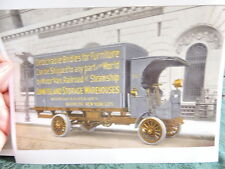 1915 LI Storage Nostrand & Gates Bed-Stuy Brooklyn Truck NYC New York Photo 8x10
