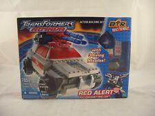 Transformers ARMADA BTR Red Alert con Lungo Braccio e mini con