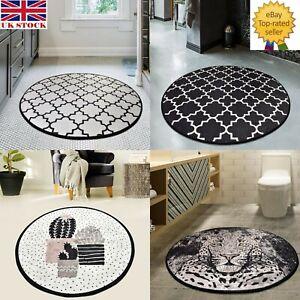 NEW Large Bath Mats Non-slip Print Design Toilet Pedestal Mat Home Carpet Rugs