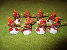 Warhammer 40k Eldar Fire Dragons x 8, Metal