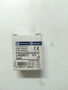 Brand New LADN11 Telemecanique Auxiliary Contact Block 4PCS