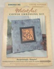 Dimensions MetalArt Copper Embossing Kit Watering Can 63043 New / sealed
