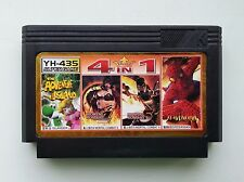 SALE RARE Famicom 4in1 Games IsIand Mortal Kombat Spider-Man(Nintendo,Dendy,NES)