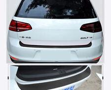 1PC 3D Carbon Fiber Decal Car Sill Plate Bumper Guard Protector Cover Trunk Trim