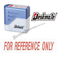 { FOR REFERENCE ONLY } Deskmate Red Pre-Inked Self-Inking Rubber Stamp #KE-F21