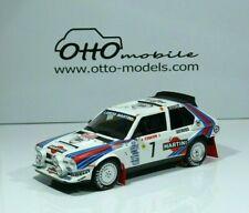 Ottomobile 1/18 Ot349 pack Rally Monte-Carlo 1986 Lancia delta S4 RU