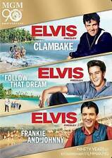Clambake/Follow That Dream/Frankie and Johnny (DVD, 2014, 3-Disc Set)